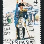 Постер, плакат: Artillery standard bearer