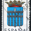 Provincial Arms Segovia - Stock Photo