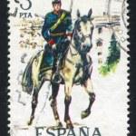 Постер, плакат: Mounted artillery lieutenant