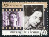 Actress Leela Naidu — Стоковое фото