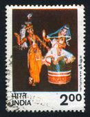 Kobiety taniec manipuri — Zdjęcie stockowe