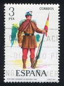 żołnierz kapral — Zdjęcie stockowe
