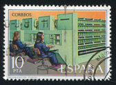 Mechanization postal — Stock Photo