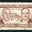 Stock Photo: Presidents Jorge Pacheco Areco of Uruguay and Arthur Costa