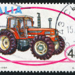 Galaxy same tractor — Stock Photo