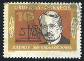 Justino Jimenez de Arechaga — Stock Photo