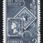 Spanish postage stamps — Stock Photo #13595915