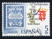 Barcelona wapenschild — Stockfoto