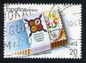 西班牙集邮联合会会徽 — 图库照片