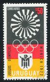 Munich Olympic Games Emblem — Stock Photo