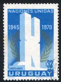 联合国和月桂树 — 图库照片