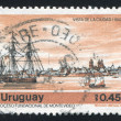 Stock Photo: Montevideo Harbor