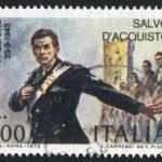 Salvo Acquisto by Vittorio Pisano — Stock Photo