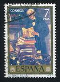 Bibliophile by Gutierrez Solana — Stock Photo