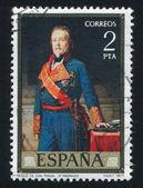 Porträt des herzog von san miguel von federico madrazo — Stockfoto