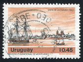 Montevideo Harbor — Stock Photo