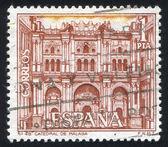 Malaga kathedraal — Stockfoto