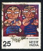 Two Vaishnavas — Stock Photo