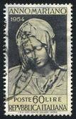 Virgen de la piedad de miguel ángel — Foto de Stock