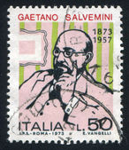 Gaetano Salvemini — Stock Photo