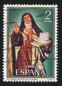 Portrait of St Teresa of Avila — Stock Photo