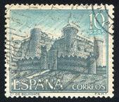 Zamek de belmonte — Zdjęcie stockowe