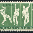 Indian Cricket players - Stock Photo