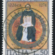 Saint Thomas Aquinas by Francesco Traini — Stock Photo