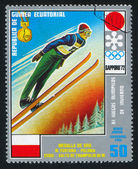 Ski Jumping — Stock Photo