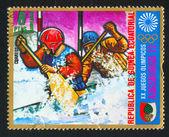 Pair rowing — Foto de Stock