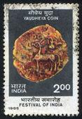 Yaudheya Tribal Republic Copper Coin — Stock Photo