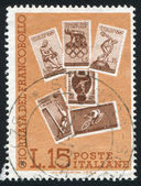 Sport stamps — Stock Photo