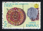 Mexican Calendar Stone — Stock Photo