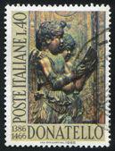 śpiew aniołów przez donatello — Zdjęcie stockowe