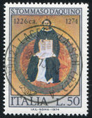 Saint Thomas Aquinas by Francesco Traini — Stock Photo