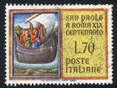 Saint Paul aboard ship — Stockfoto