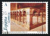 Monastery of San Juan de la Pena — Stock Photo