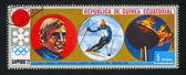 Slalom Skiing — Stock Photo