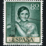 Girl of the guitar by Romero de Torres — Stock Photo #15273949