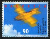 Pilotar avião — Foto Stock