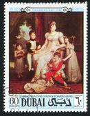 Caroline murat et enfants par baron gerard — Photo