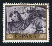 Saint Juan Capistrano and Bernardino by Alonso Cano — Stock Photo