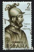 Portrait of Diego de Almagro — Stock Photo
