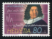 Mathematician Jacob Bernoulli — Stock Photo