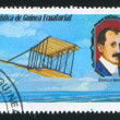 Stock Photo: Experimental Glider and Orville Wright