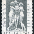Three graces by Antonio Canova — Stock Photo