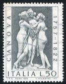Three graces by Antonio Canova — Stock Photo
