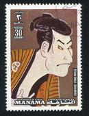 Otani Oniji by Sharaku — Stock Photo