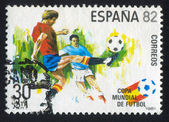 Piłkarze — Zdjęcie stockowe