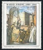 Trots van het werk van mario sironi — Stockfoto